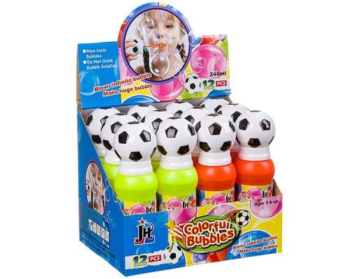 Мыльные пузыри футбольный мяч 240 мл 818-12