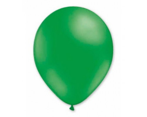 Воздушные шары Пастель зелёный 12 дюйм./30 см. 1шт.