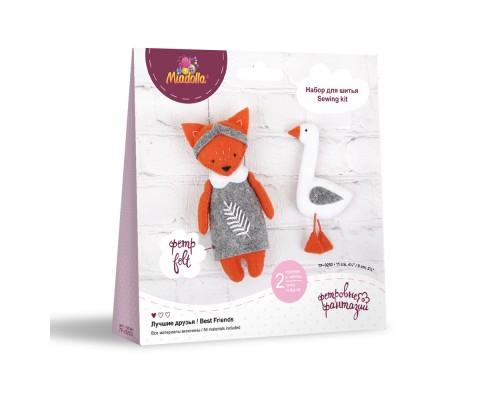 """Набор для изготовления игрушек """"Miadolla"""" Лучшие друзья"""