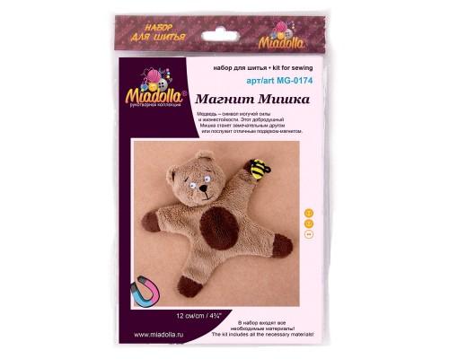 """Набор для изготовления игрушек """"Miadolla"""" Магнит Мишка"""