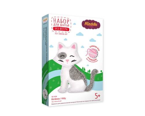 """Набор для изготовления игрушек """"Miadolla"""" Котенок"""